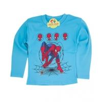 Bluza groasa baieti 4-8 ani, Spiderman