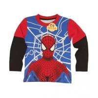 Bluza-tricou baieti 7-8 ani, Spiderman