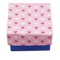 Cutiuta inimioare roz-albastru