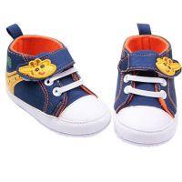 Pantofi bebelusi 0-9 luni, girafa