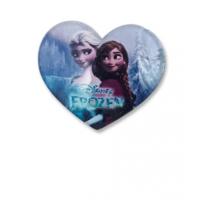 Insigna copii inimioara Elsa&Ana