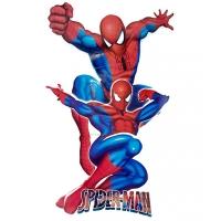 Sticker perete Spider Man, 51x32 cm