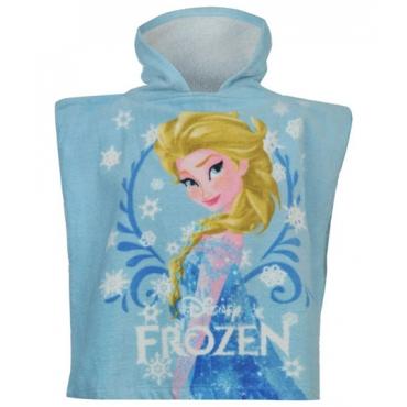 Prosop poncho fetite 0-2 ani, Elsa, Frozen