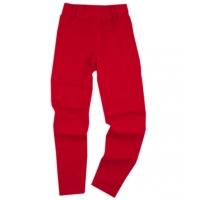 Pantaloni strech copii 7-8 ani, rosu