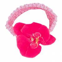 Bentita fetite 0-3 luni, Orhidee, roz