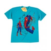 Tricou baieti 4-8 ani, Spiderman, vernil