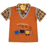 Bluza-camasa baieti 1-4 ani, Trenulet