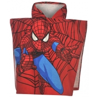 Prosop poncho baieti 0-2 ani, SpiderMan
