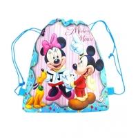 Sac sport copii 36x27 cm, Minnie & Mickey