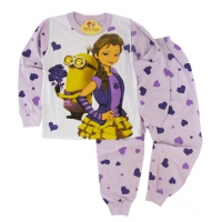 Pijamale fetite 4-8 ani, Elsa&Minion