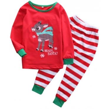 Pijamele Craciun copii 12-18 luni, Rudolf
