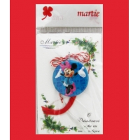 Martisor copii insigna Minnie Mouse