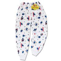 Pantaloni mansete 2-3 ani, Strumfi
