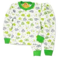 Pijamale bumbac copii 6 luni-6 ani, elefanti