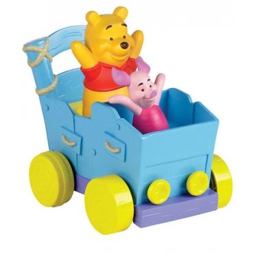 Tomy-Vagon Winnie & prietenii 12+ luni